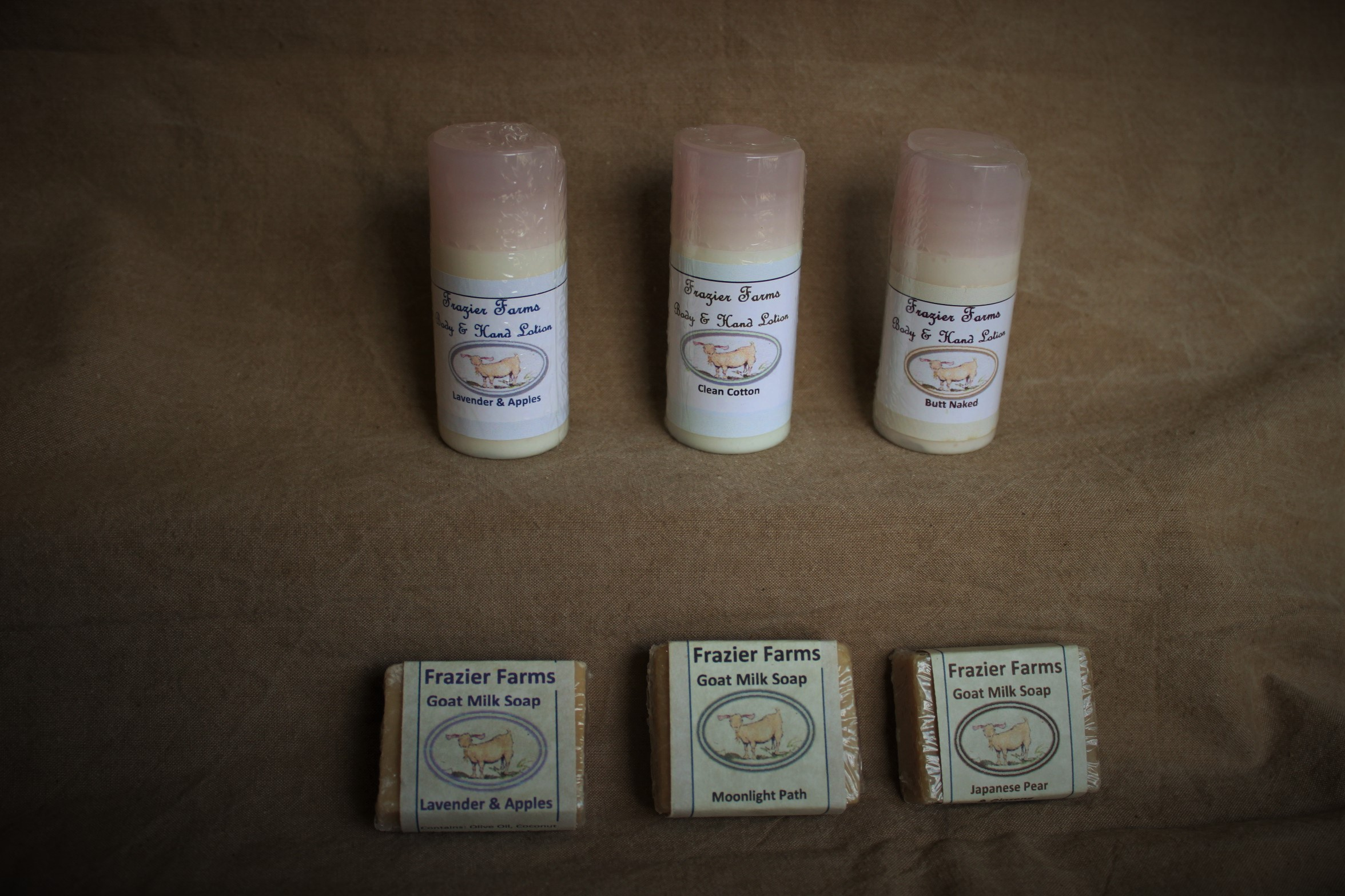 Select 3 soaps & Lotions