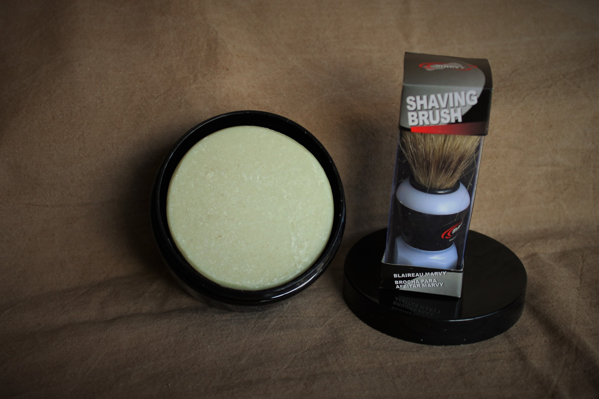 Men's Shave boat & Brush